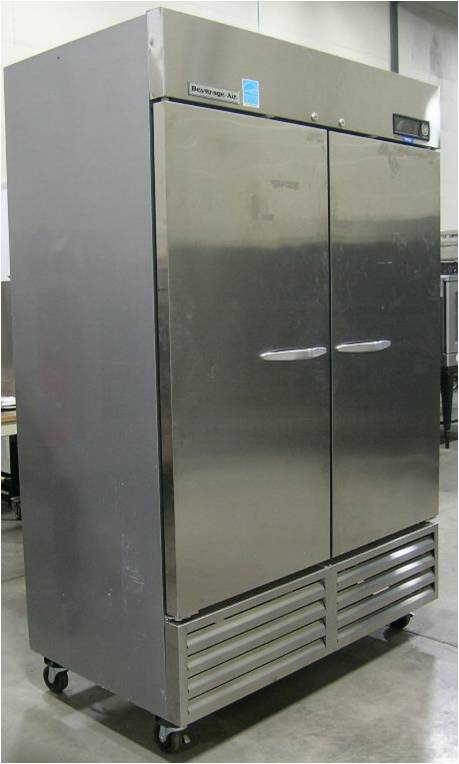 Beverage Air KF-48-1AS 2-Door Reach-in Freezer