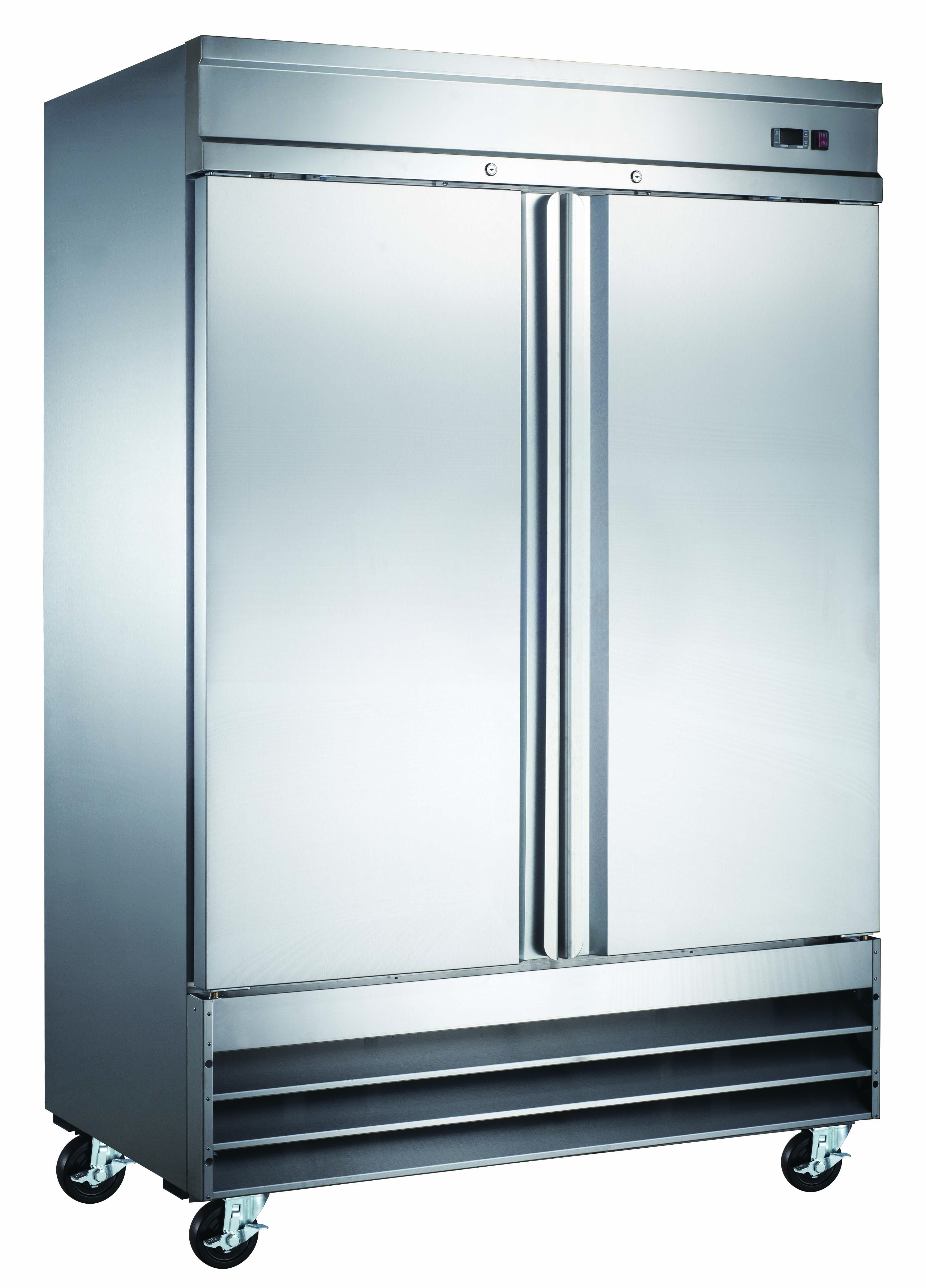 HiendL 2-S/S door Reach-in Freezer