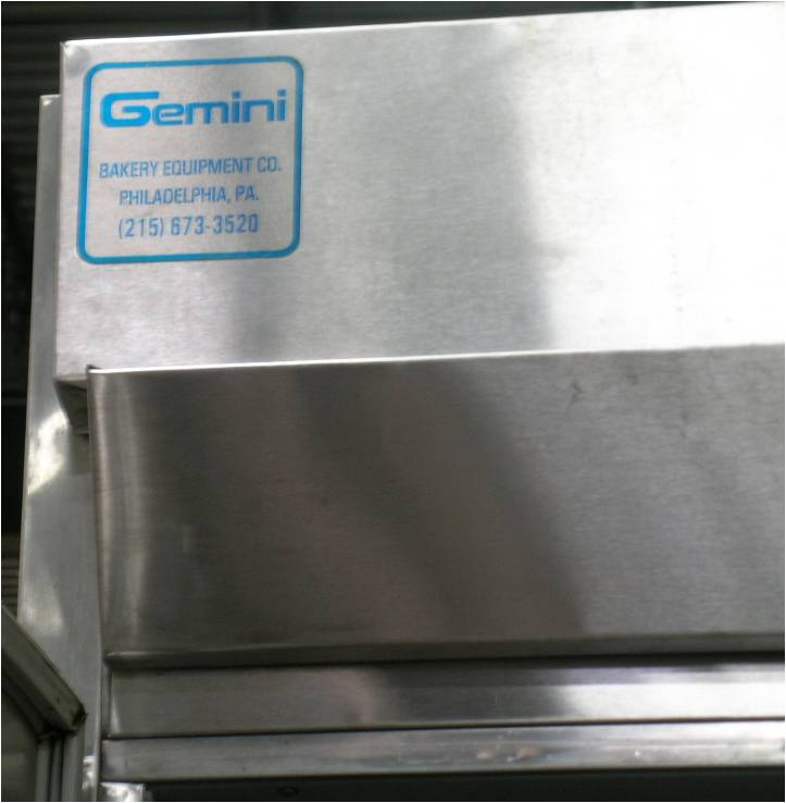 Gemini M3-FPRR Roll-in Proofer/Retarder