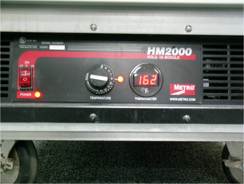 Metro FlavorHold C199 Heated Cabinet, Model: C199-HM2000