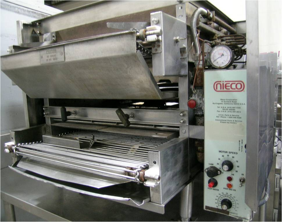 Nieco 1424 Automatic Broiler
