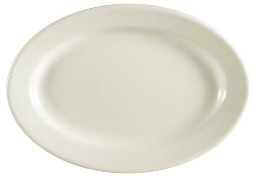 Platter, CAC REC-39 Oval Platter, 8-1/8 by 5-3/4 Inch, Box of 24