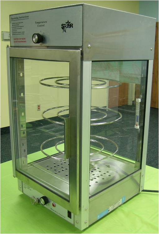 Star Max Humidified Pizza Display Case