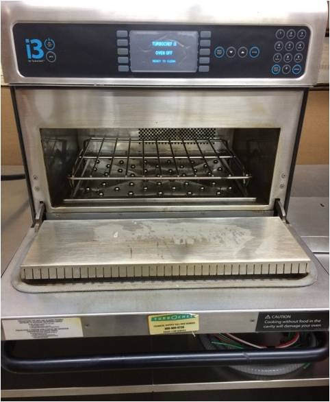 TurboChef i3 High-Speed Electric Commercial Convection Microwave