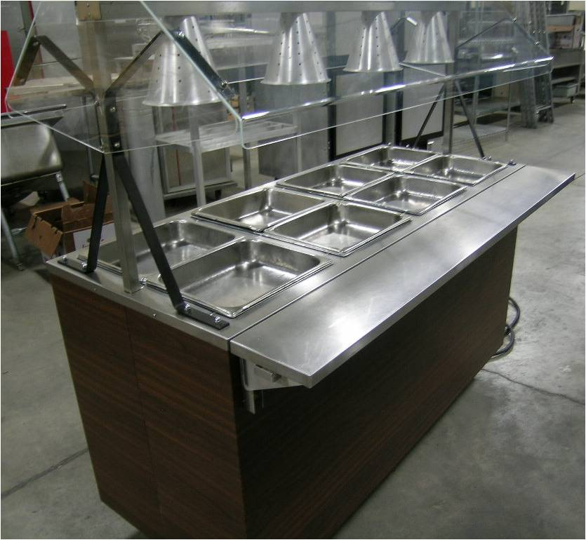 Vollrath 38945-60 4 Pan Hot Food Serving Station