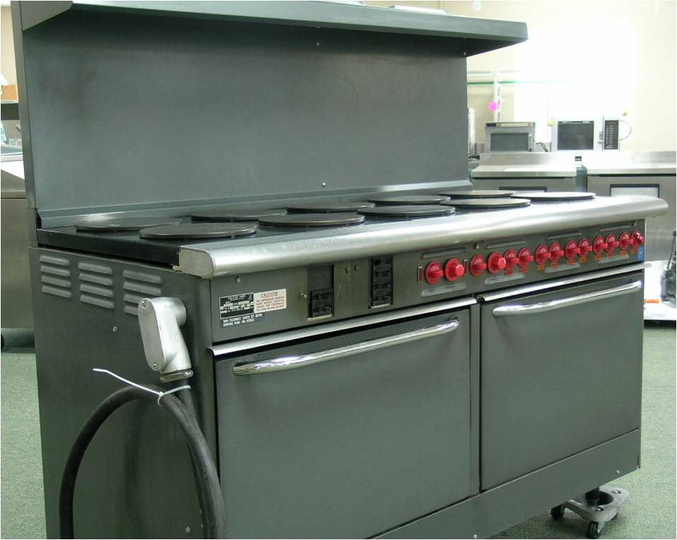 Vulcan-Hart E60 Electric Range, 10 Burners