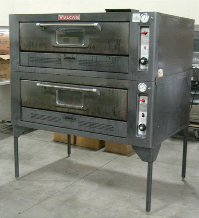 Vulcan Double-deck Gas Bake Oven