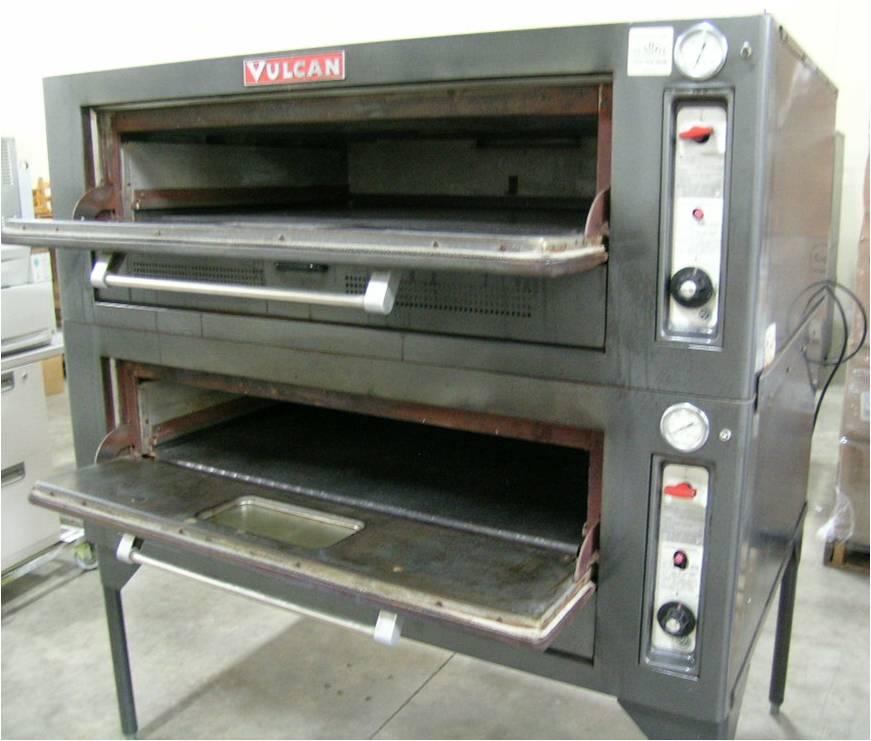 Vulcan Double Deck Gas Bake Oven 7018a1 1 195 00